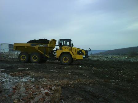 професионална машина, използваща се за тежкотоварен транспорт варна